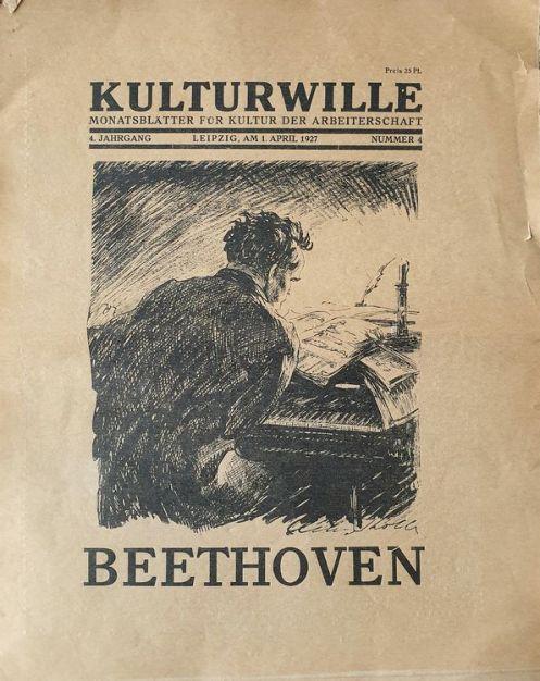 Titelbild der Leipziger Zeitschrift Kulturwille Nr. 4 von 1927
