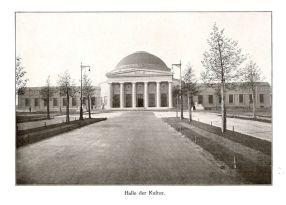 Halle der Kultur 1914 (spätere Messehalle 16)