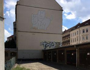Giebel in der Rolf-Axen-Straße