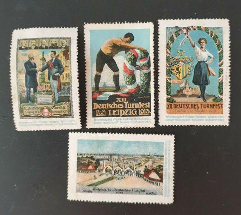 Leipziger Reklamemarken, Archiv J.R.