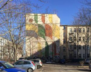 Giebel in der Kurt-Schumacher-Straße