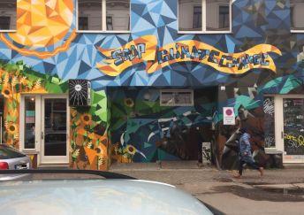 Neue Fassade in der Walter-Heinze-Straße