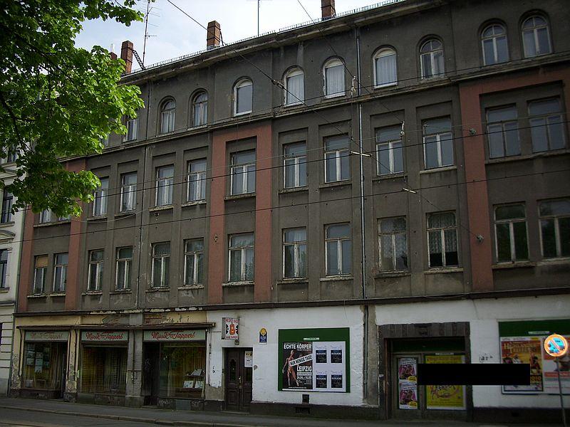 Hotel am Listplatz mit Musikhaus Tappert im Jahr 2010 (Foto: Anonymus*)