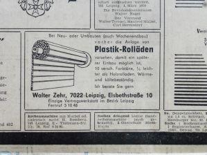 Plastik-Rolläden aus Gohlis