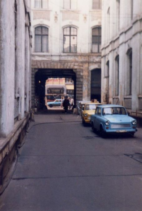 1991: Zwischen Ritter- und Nikolaistraße