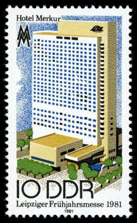 Briefmarke Hotel Merkur 1981 (Archiv PH)