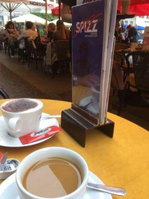 Kaffee vorm Spizz