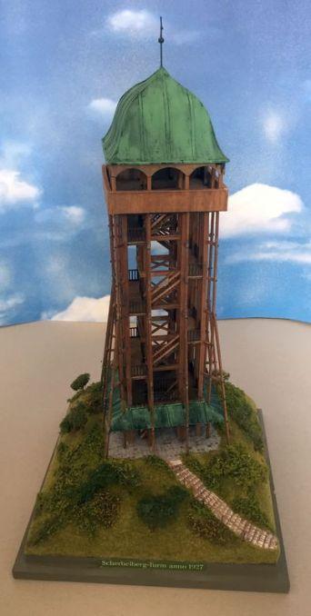 Alter Scherbelbergturm, Nachbau: Dietrich Boddin