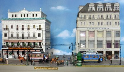 Café Felsche und Bamberger & Hertz, Nachbau: Dietrich Boddin