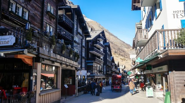 """Downtown"" Zermatt"