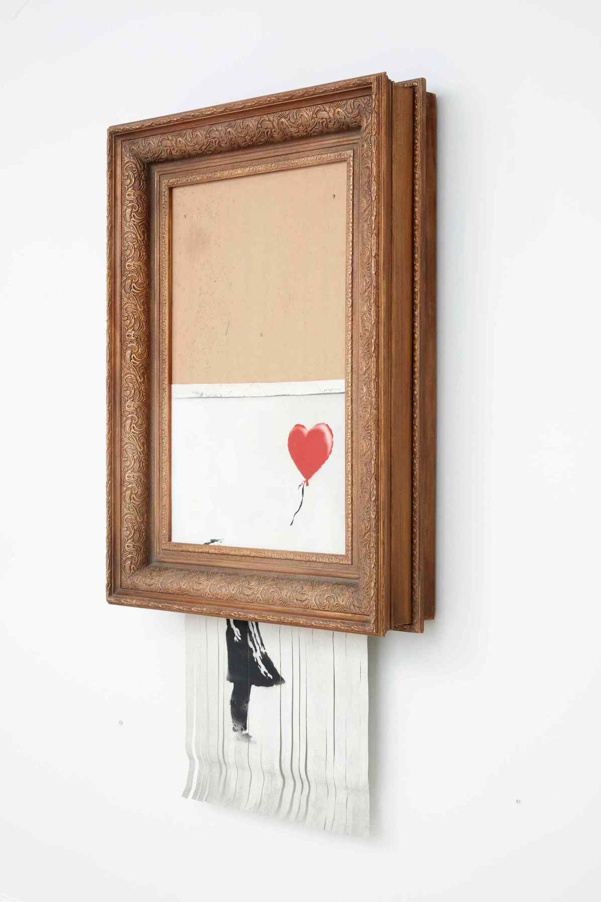 Banksy, Love is in the Bin, 2018. Private collection; photo: Sotheby's © Banksy