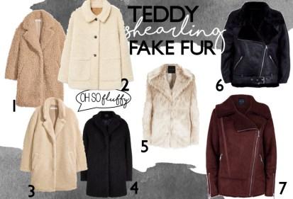 Fashion-Trend-Teddy Mäntel-Shearling Jacke-Fake fur Jacke-Editors Picks