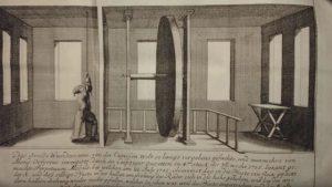 Spottzeichnung von Besslers Erfindung Verbotene Erfindungen