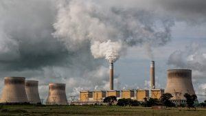 Stromproduktion mit Schadstoffemission