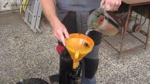 GEET Tank wird mit Wasser befüllt