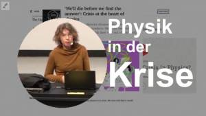 Physik in der Krise Sabine Hossenfelder