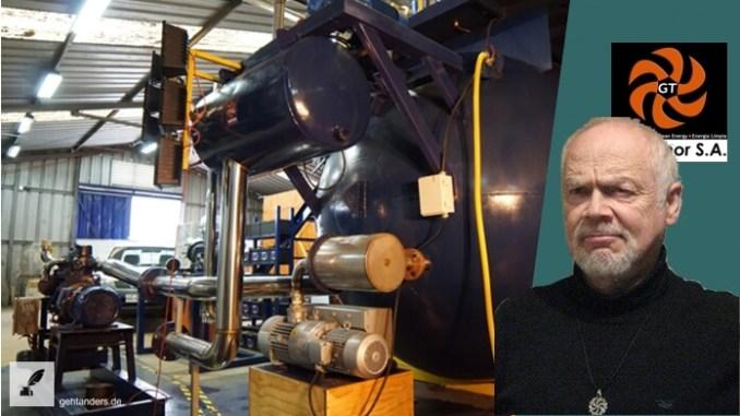 Ottomotor läuft mit Vakuum – GigaThor SA