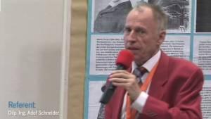 Adolf Schneider referiert über Magnetmotoren