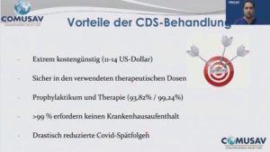 Vorteile von CDS-Behandlung bei COVID