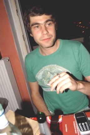Mein grünes T-Shirt