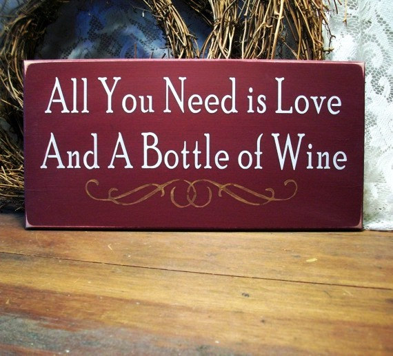 love and wine