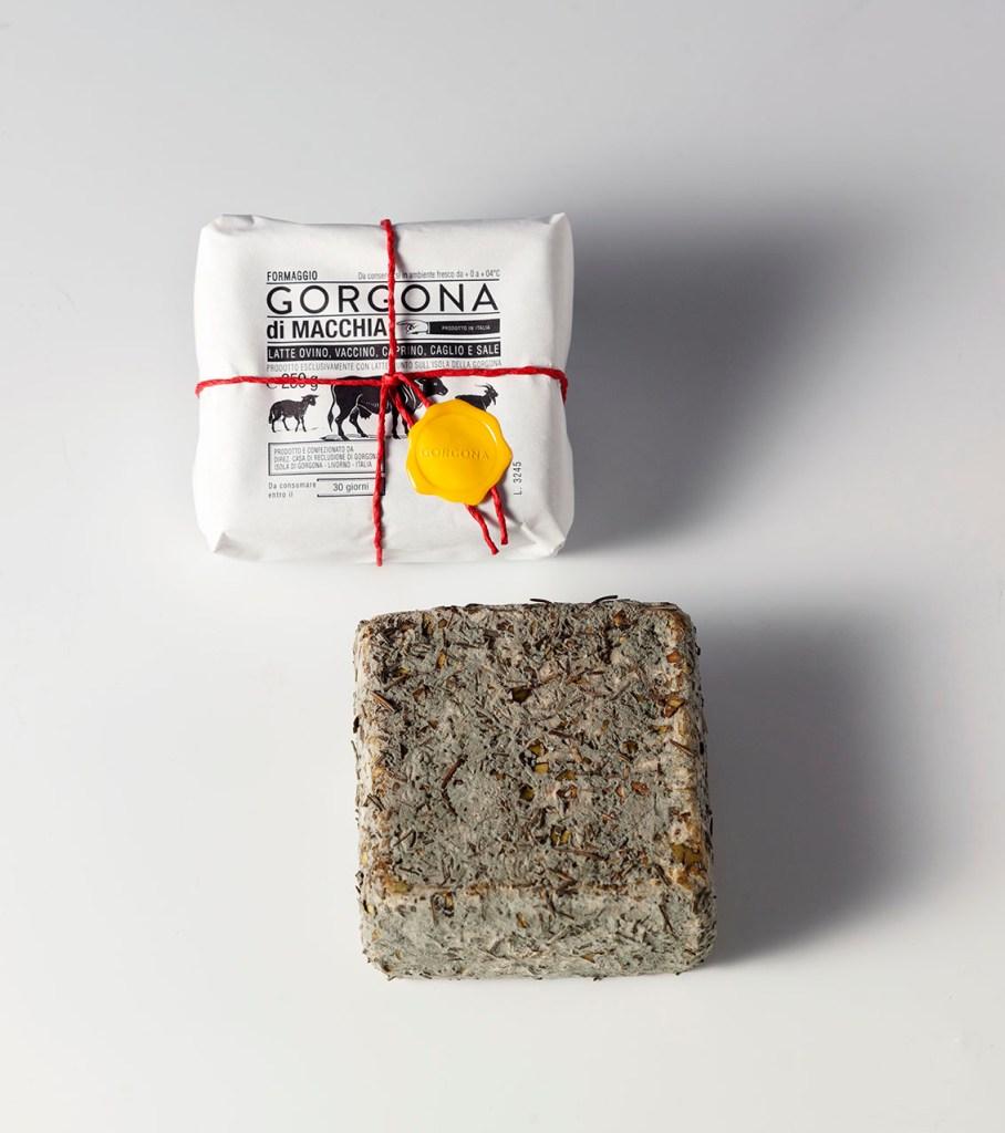 Foto formaggi Gorgona
