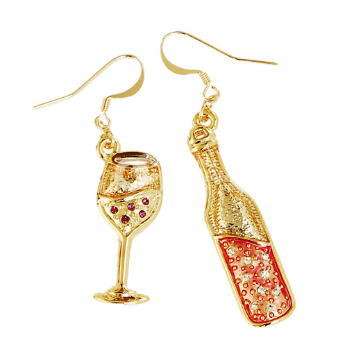 Earrings-Glasses-of-champagne-earrings-personalized-bmz _ cache-5-5bcbbb107707dd5fc0b9138cf2ae476f. 500 x 500 image.
