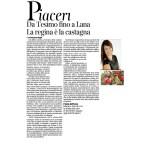 15-10-2016 Corriere dell'Alto Adige Da Tesimo fino a Lana la regina è la castagna