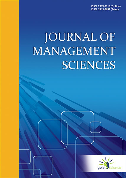 Journal of Management Sciences  Geist Science