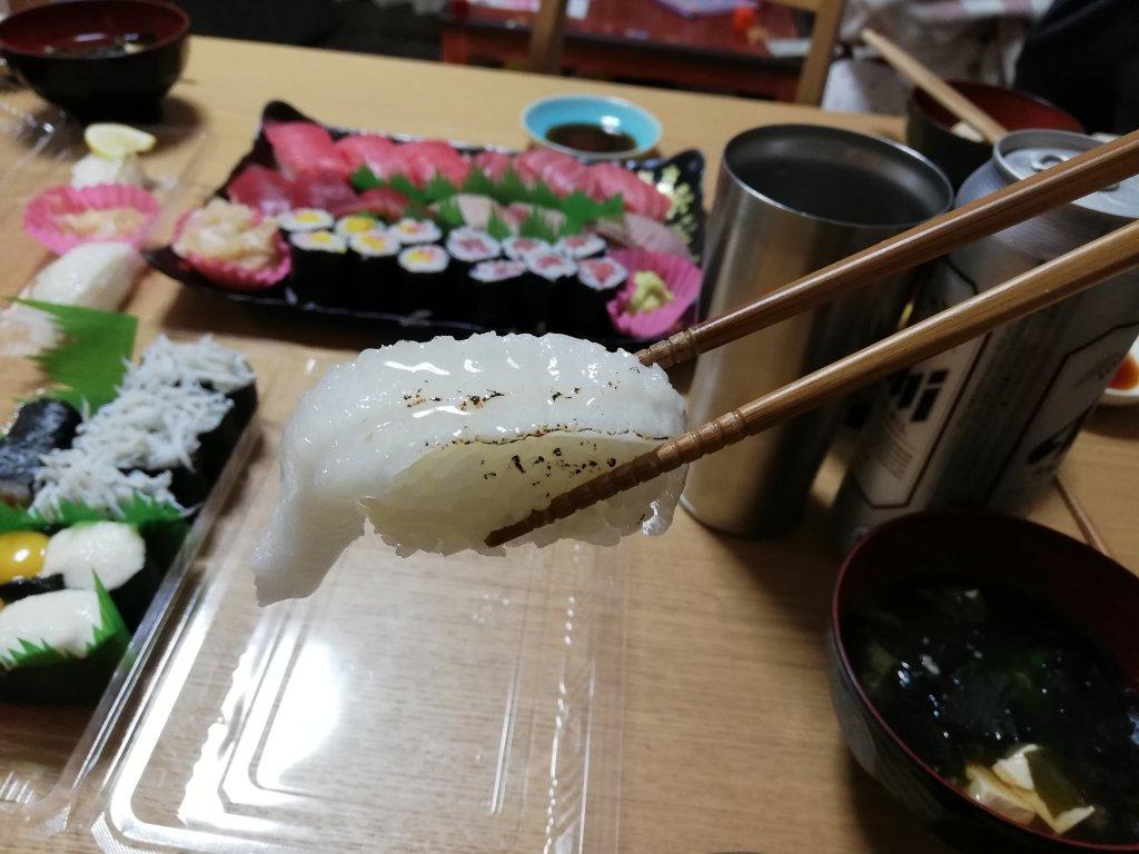 銚子丸縁側の炙り