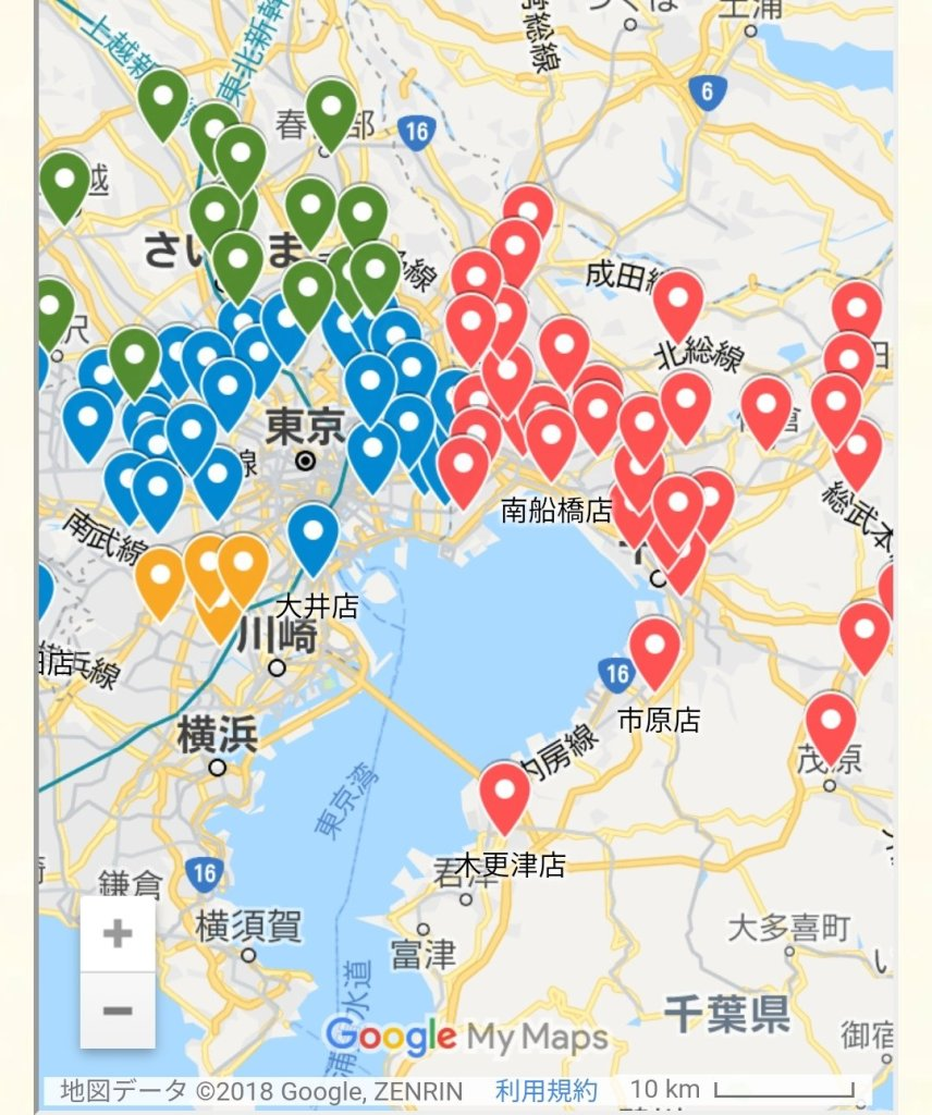 銚子丸店舗所在地