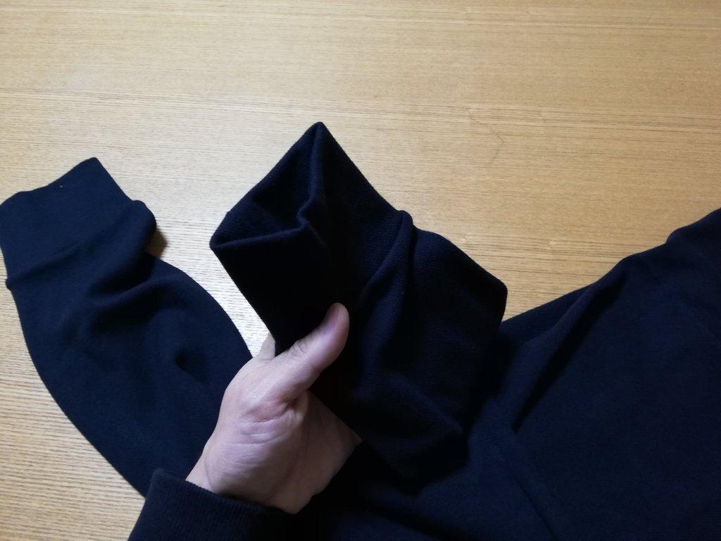 ユニクロ超極暖ヒートテックインナー下の裾