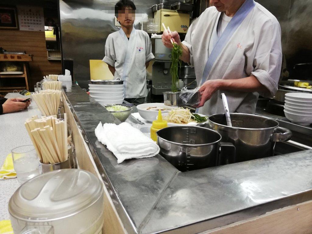 江戸川区篠崎のラーメン屋さん勝の大将
