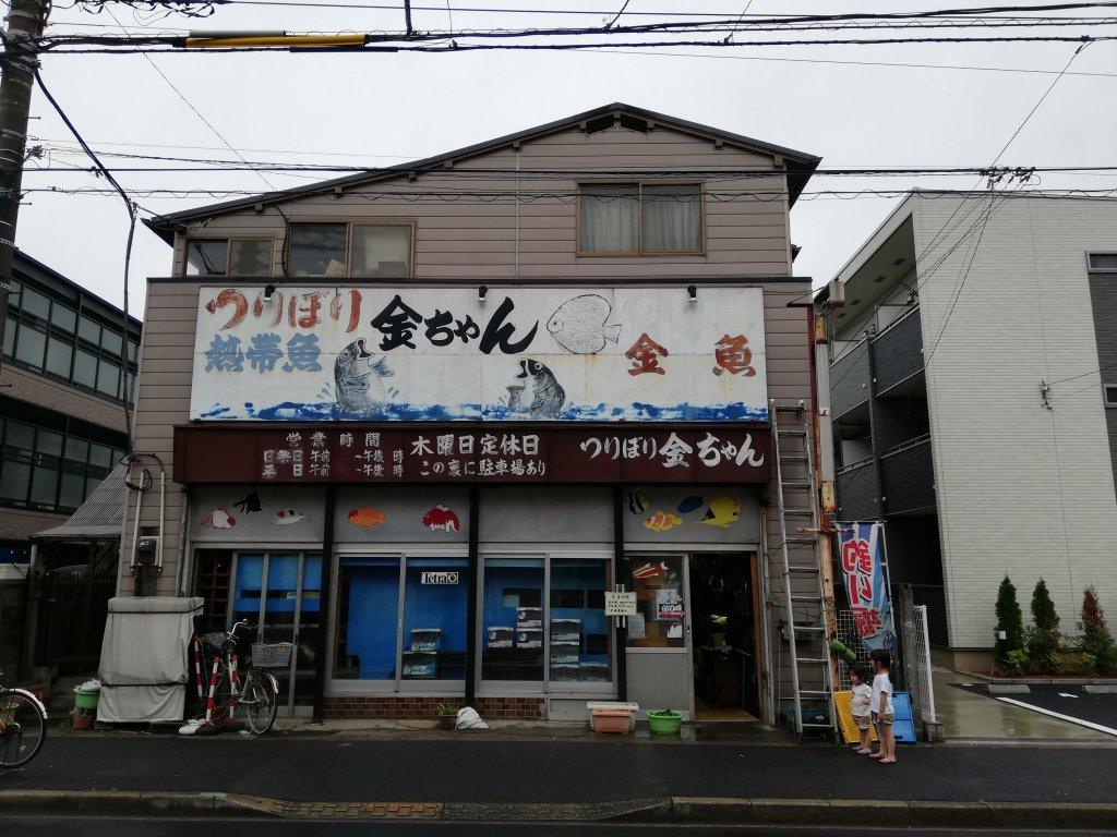 釣り堀金ちゃんの店舗外観