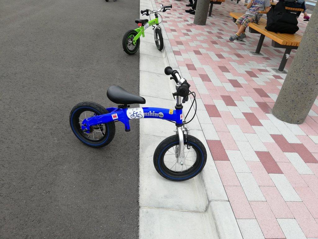 江戸川区東部交通公園のストライダー