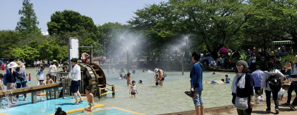 アンデルセン公園のアルキメデスの泉