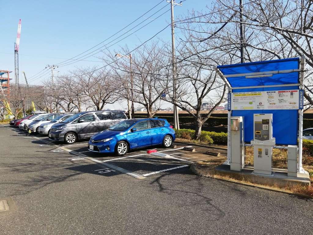 なぎさ公園第一駐車場