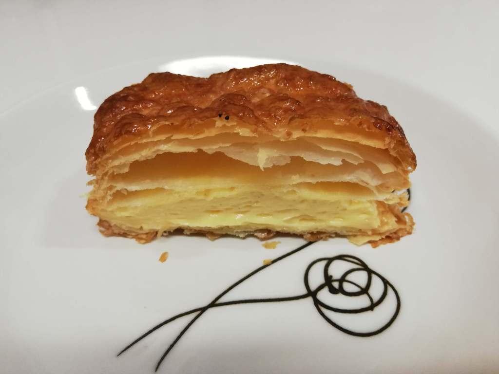 江戸川区瑞江のカフェBAKEのパイの断面