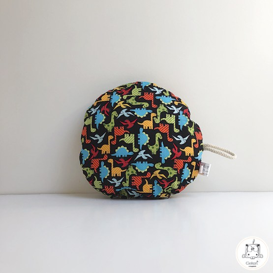 coussin rond dino GEKATI