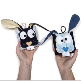 lapin berlingot mobile phosphorescent made in france gekati