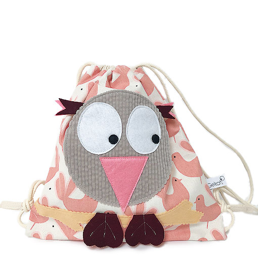 sac a dos chouette bird made in france gekati