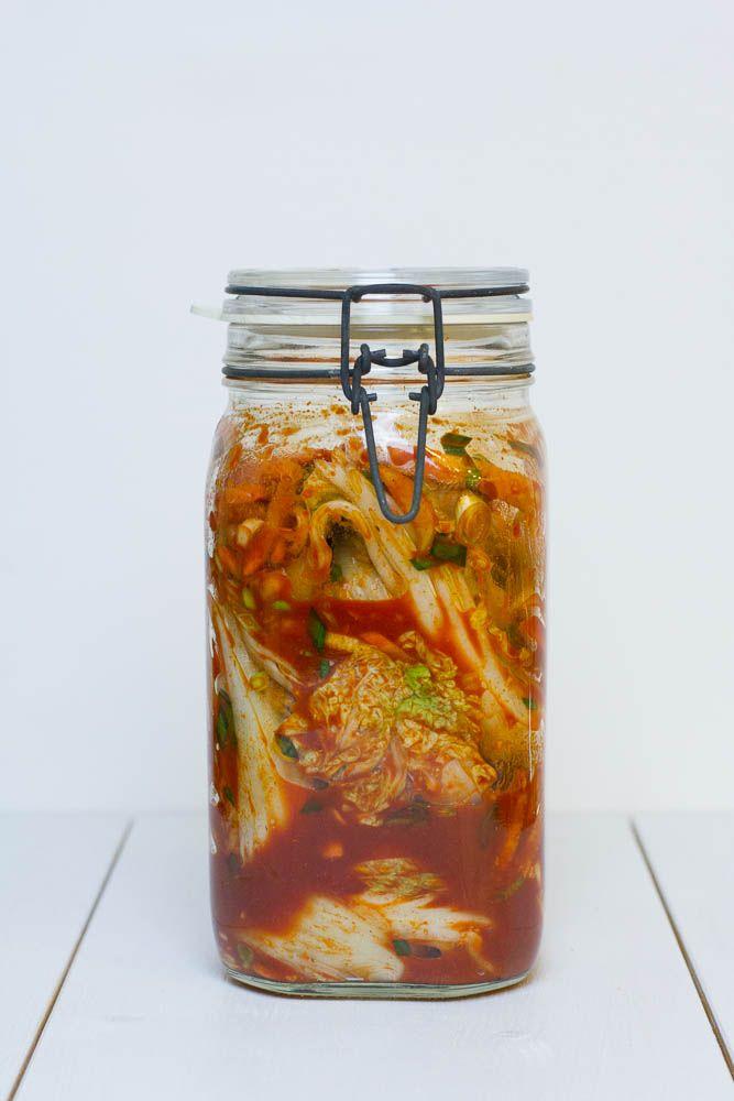 Selbsteingelegtes koreanisches Kimchi - Step by Step