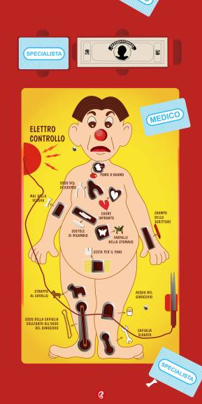 l'allegro chirurgo - anni90 - gelatinadesign