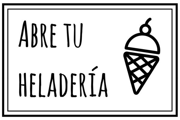 Maquinaria y equipamiento para heladería artesanal Abrir Heladería Artesanal