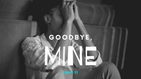 sad saying goodbye