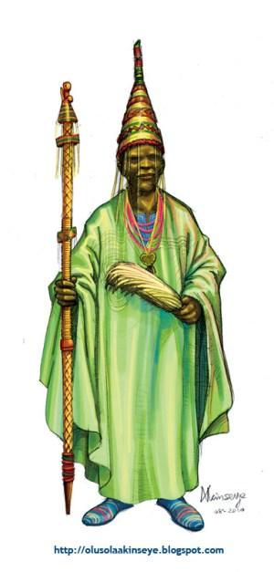 Oba - Yoruba King