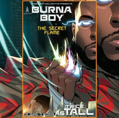 Burna Boy (African Giant) - Twice as tall