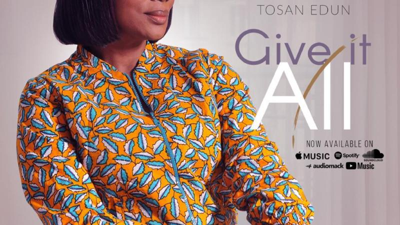Give It All by Tosan Edun