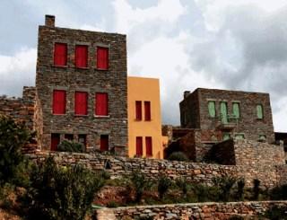 new greek architecture