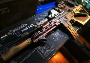 M249 by LeHui Gel Blaster
